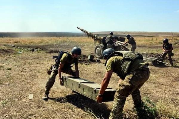 Тернопільські артилеристи посіли перше місце на змаганнях в ООС