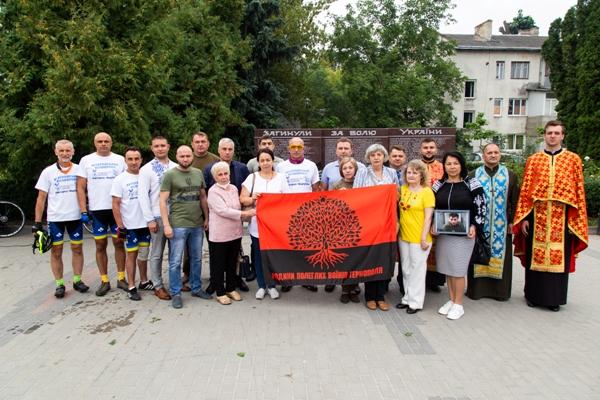 Учасники велопробігу ветеранів війни завітали до Тернополя