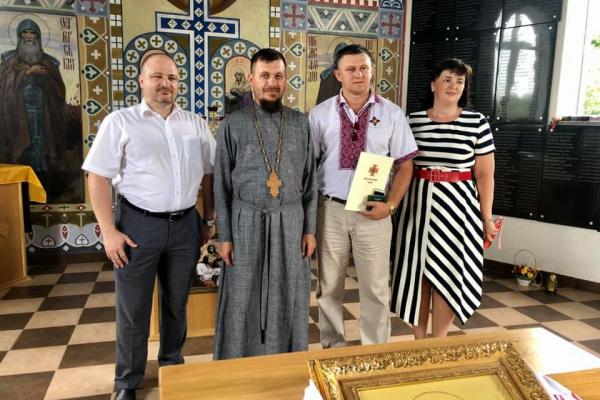 Тернопільського депутата нагородили Орденом святого рівноапостольного князя Володимира