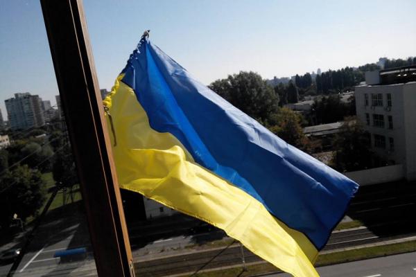 Прапор України у кожному домі: У Тернополі започаткували патріотичну акцію (Відео)