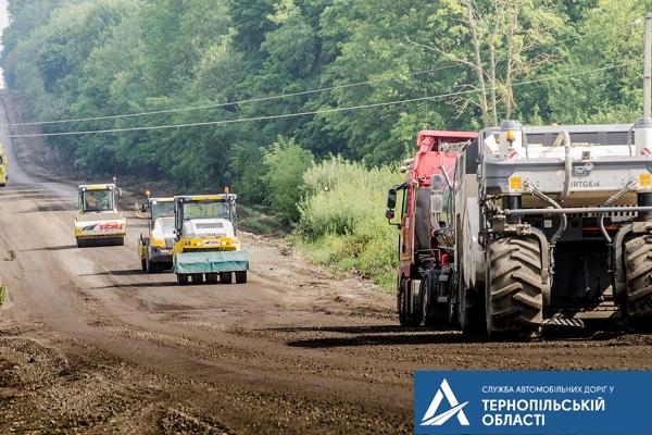 Ремонт автошляху М-19 просунувся до Оришківців