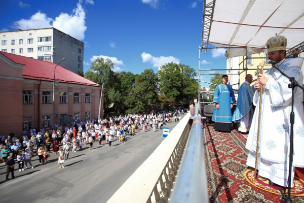З нагоди свята Успіння Пресвятої Богородиці: у Тернополі відбулася святкова Літургія