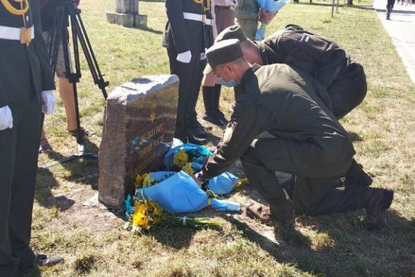 У Тернополі відкрили Алею пам'яті тернополян, полеглих у російсько-українській війні