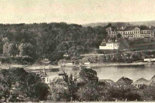 Інтер'єр Вишневецького палацу у 1912 році