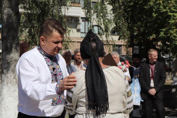 На території музею національно-визвольної боротьби Тернопільщини відкрили та освятили монумент Святої Покрови
