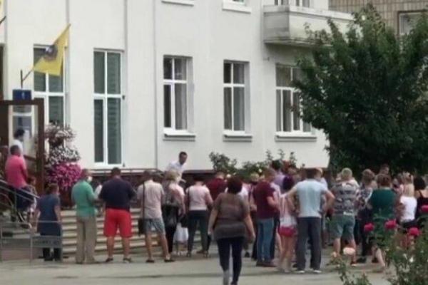 На Тернопільщині люди вийшли на акцію проти карантину