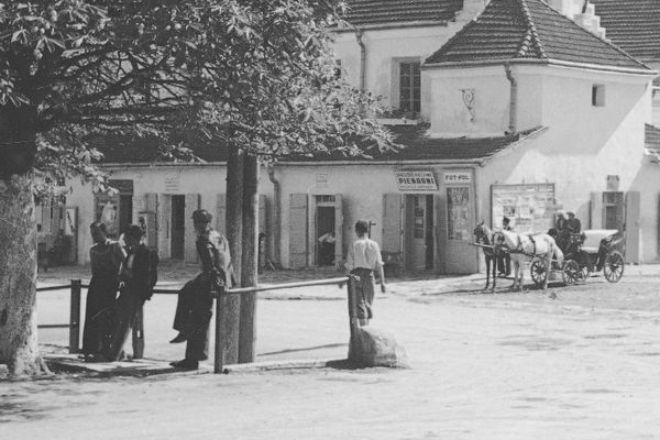 Літні Заліщики на фото 1938 року