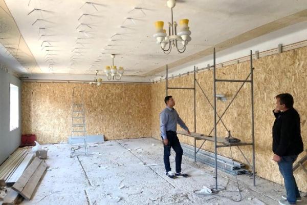 Тернопільщина : у Залізцях триває підготовка до відкриття музею