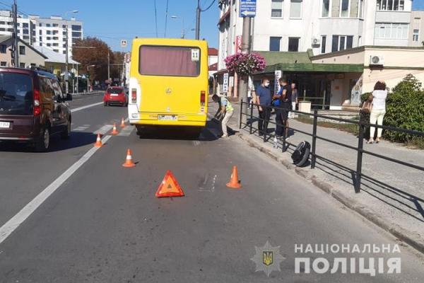 Очевидців смертельної ДТП у Тернополі просять відгукнутися