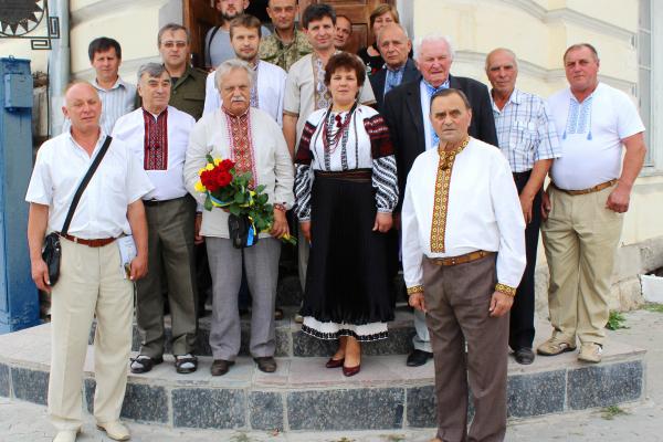 Відомий поет з Тернопільщини відсвяткував 80-річчя