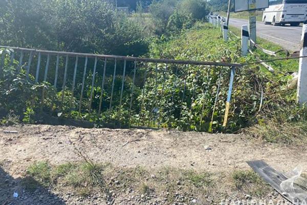 У Монастириському районі мотоцикліст під час обгону потрапив в аварію