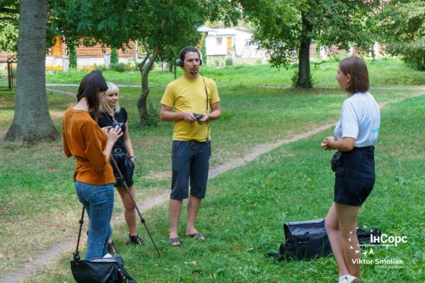 ГО «ІнСорс» знімає відеоролики про талановиту молодь Тернопільщини