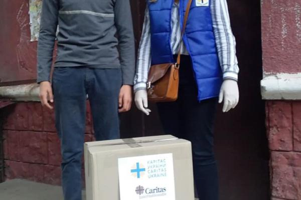 Тернопільський «Карітас» продовжує допомагати дітям, чиї батьки під час пандемії втратили роботу