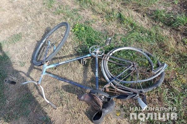 На Тернопільщині під колесами автомобіля потрапив велосипедист