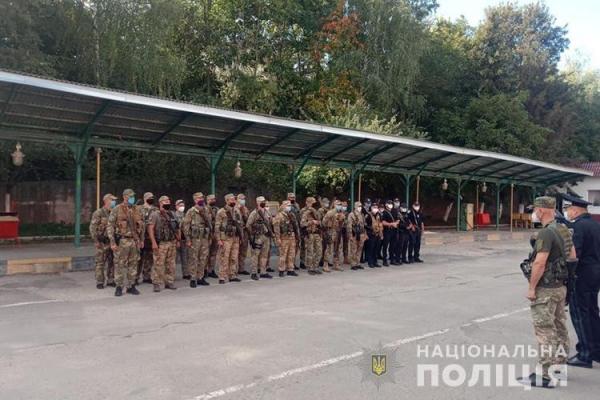 Правоохоронці  Тернопільщині вирушили в зону проведення Операції об'єднаних сил