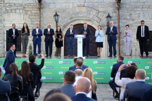На Тернопільщині представили команду партії «Слуга Народу», яка втілюватиме Стратегію розвитку в регіоні (Фото)