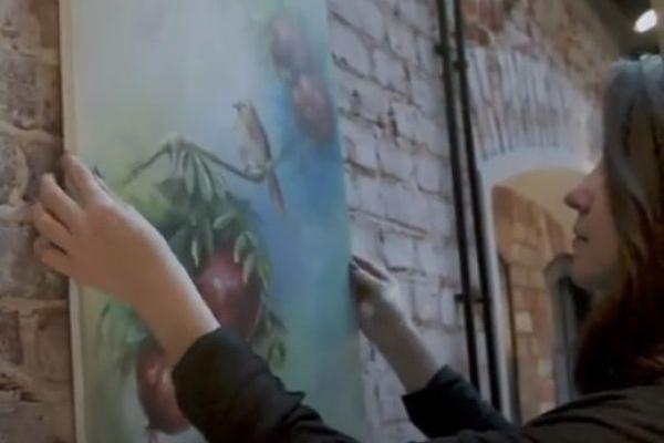 Картини талановитої тернопільської художниці-мультиплікатора «оживають» у смартфоні (Відео)