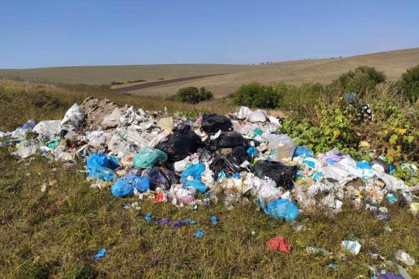 На Тернопільщині продовжують виявляти стихійні сміттєзвалища