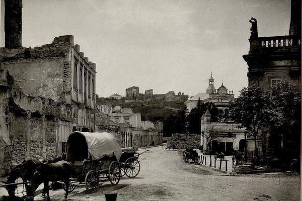 Старе фото бучацької ратуші виклали у соцмережах