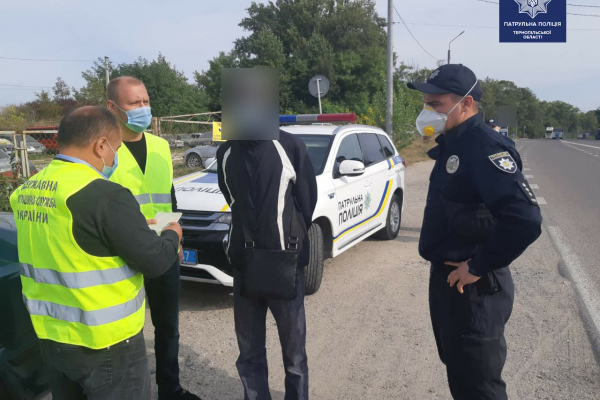 «Порушив правила дорожнього руху»: правоохоронці впіймали у Тернополі нелегала
