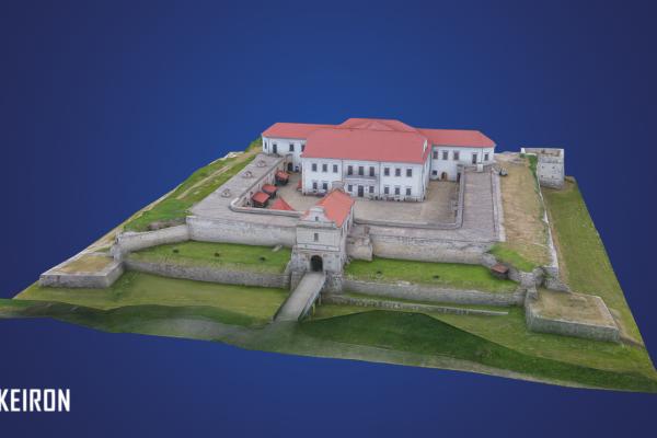 Збаразький замок розмістять на туристичних листівках доповненої реальності