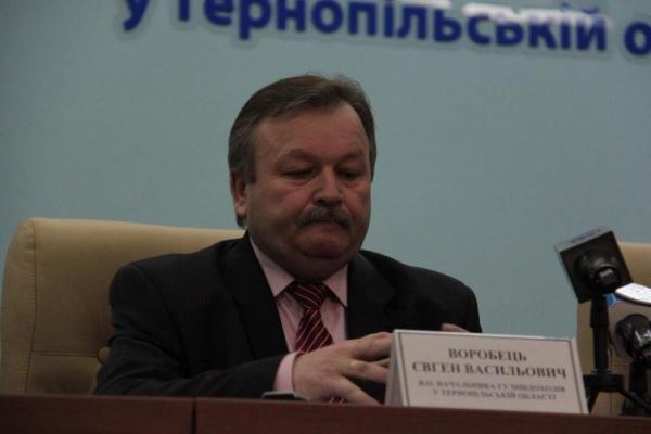 Податківця з Тернополя Євгена Воробця, який вимагав хабар, випустять під заставу у мільйон