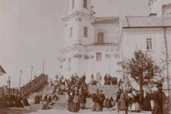 Почаївська Лавра на столітніх фото