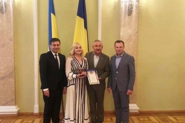 Тернопільська активістка отримала орден «Гордість нації»