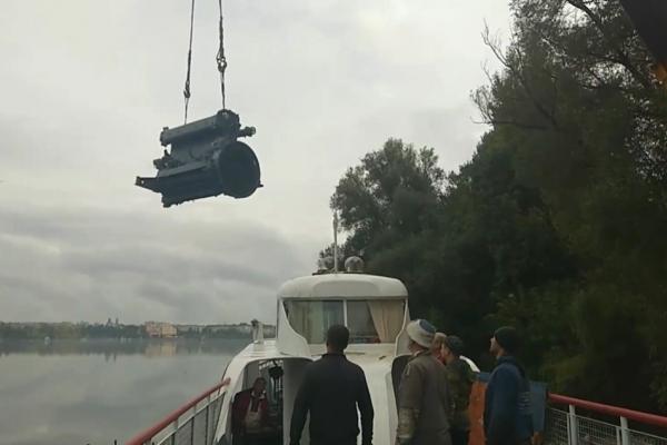 Історичний момент для «Героя Танцорова»: на судні замінили двигун
