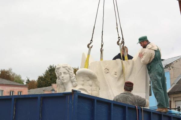 На Тернопільщині встановили пам'ятник Борцям за волю України