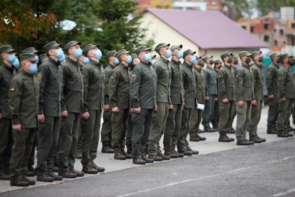 У Тернополі привітали військовослужбовців Національної гвардії України