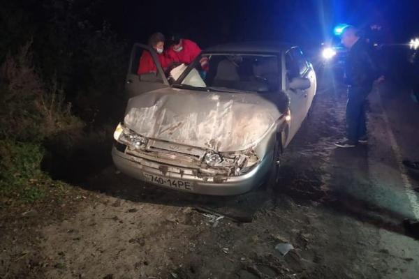 На Бережанщині трактор розчавив «Ладу»