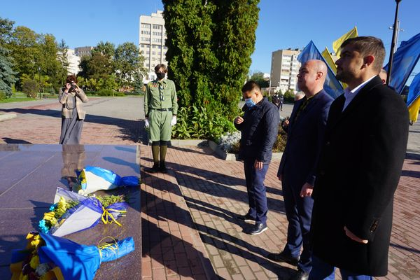 У Тернополі відбулася урочиста церемонія з нагоди Дня захисника України