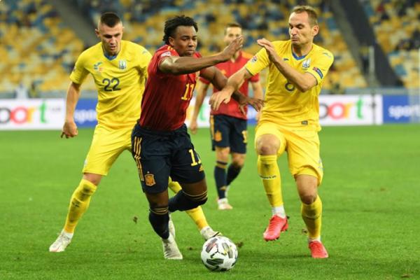 Ліга Націй: Україна перемогла Іспанію