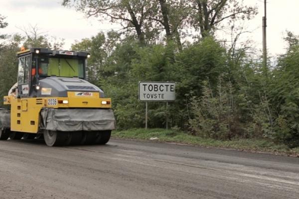 На Тернопільщині триває ремонт автошляху М-19