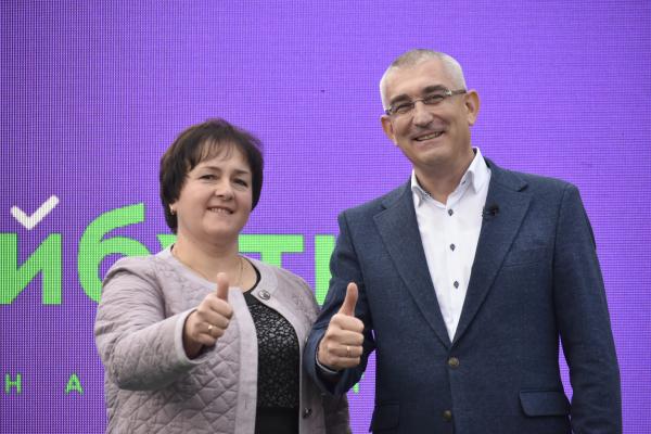 Команда Чайківського «За майбутнє» - єдина, хто публічно представляє своїх кандидатів по всій області