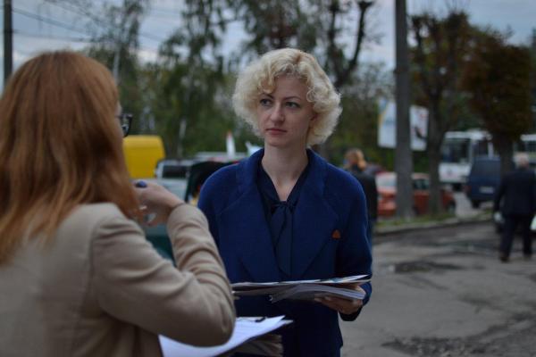 Галицька Партія одна з небагатьох, чиї намети бачили в Тернополі у міжвиборчий період