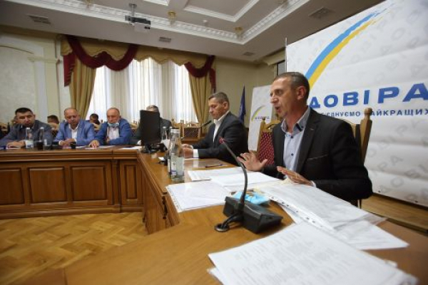 Місцеві вибори: на Тернопільщині рейтинг партії «Довіра» зріс до 10,5 %