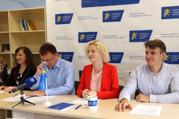 Програма Української Галицької Партії для Тернополя