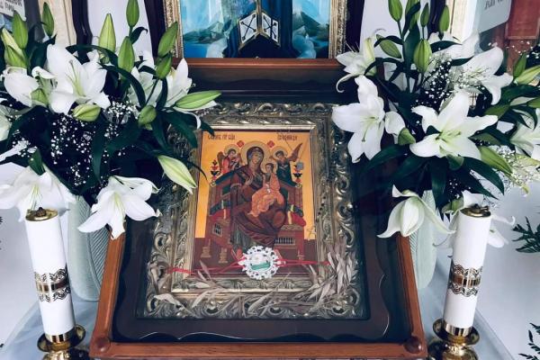 Жителів Тернопільщини закликають помолитися перед Мироточивою іконою