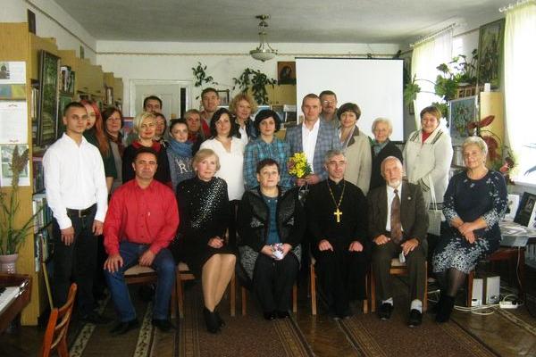 Презентація творчості художника Романа Солтисіка в Теребовлі, що на Тернопіллі