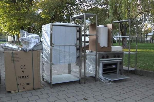 Нове обладнання для харчоблоків отримали 44 школи Тернопільщини