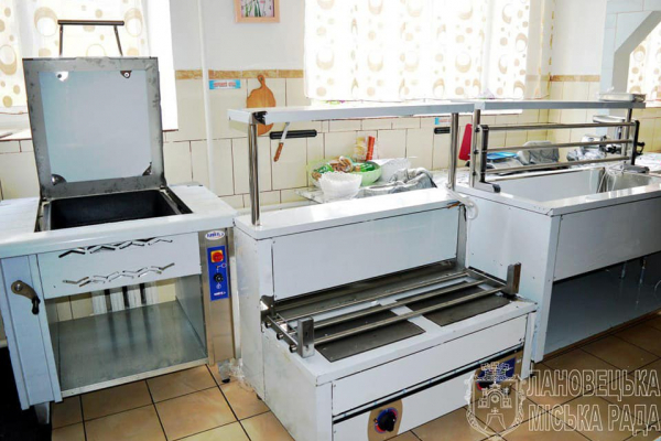 Один із навчальних закладів Тернопільщини отримав професійне кухонне обладнання