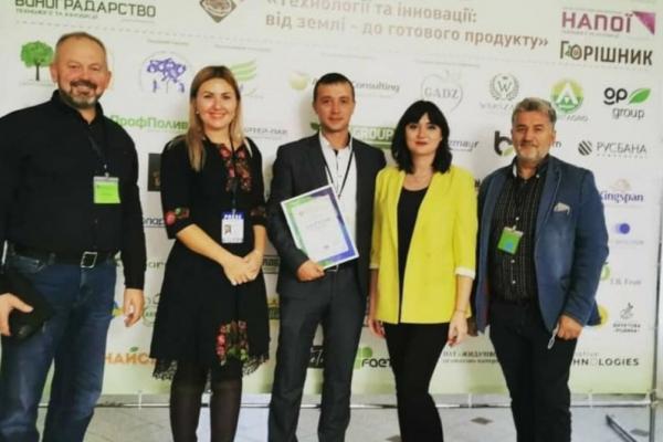 Директор ФГ «ГАДЗ» став найкращим агрономом-садівником України
