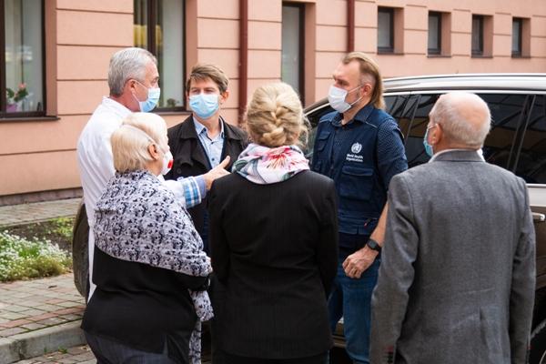 Представники ВООЗ оцінюють підготовленість медзакладів Тернопільщини до боротьби з COVID-19