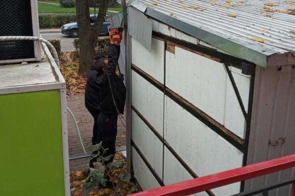 У Тернополі демонтували незаконно встановлений кіоск