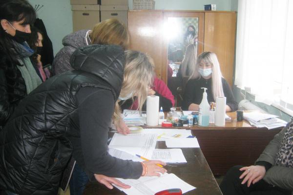 Засідання Теребовлянської міської територіально виборчої комісії по питанню вилучення деякої виборчої документації