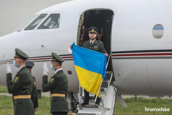 Стало відомо, хто заплатив понад 800 тис грн за оренду літака, яким прибув Віталій Марків
