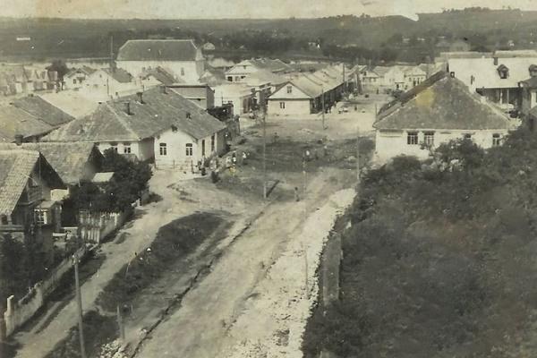 Місто Шумськ на столітньому фото