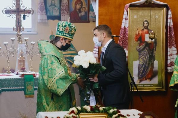Віктор Устенко привітав архієпископа Тернопільського та Кременецького Нестора з тезоіменинами